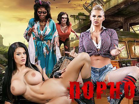 Reagan Foxx kann nicht zurückhalten von gruppensex wenn sie sehr geil wird